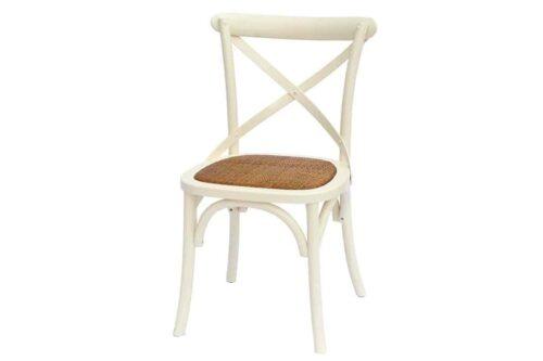 כסא אוכל שמנת כפרי