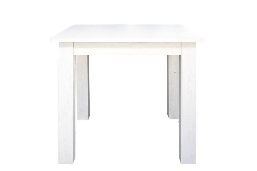 שולחן מרובע לבן