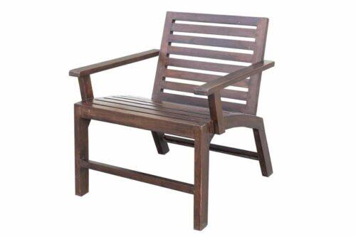 כורסאות עץ לגינה