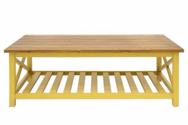 שולחן סלון חרדל