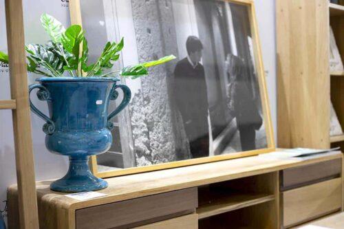 גביע קרמיקה מפואר לפרחים