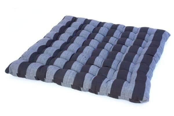 כרית מושב שחור אפור