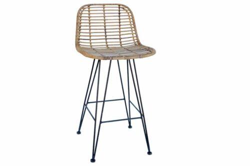 כסא בר מעוצב מראטן