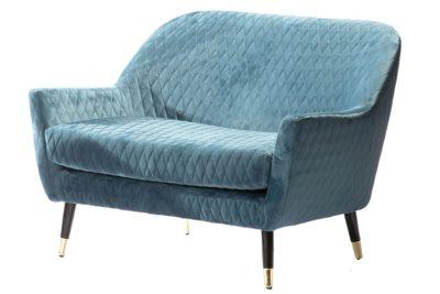 ספה זוגית תכלת לסלון