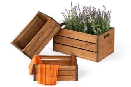 ארגזים מעץ בסגנון ישן