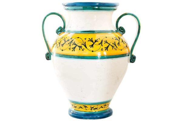 גביע ענק מעוצב חרס