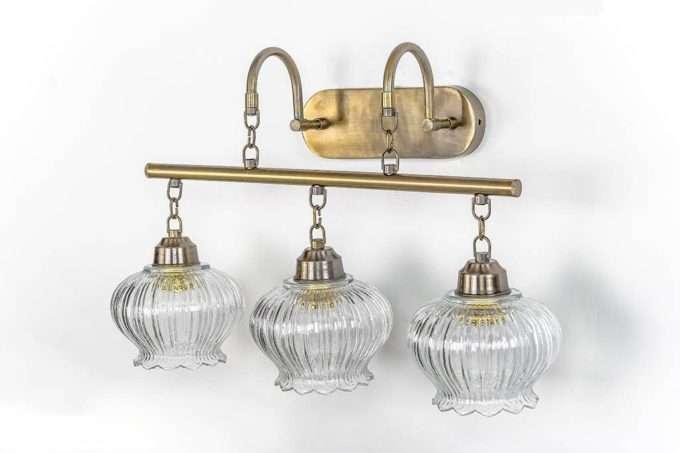 גוף שלוש מנורות מנורה