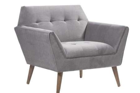 כורסא גדולה אפור
