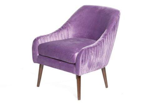 כורסא ורודה לסלון מבד