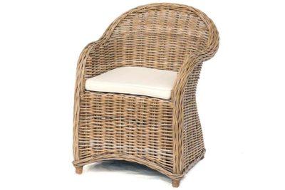 כורסא מעוצבת ראטן קש