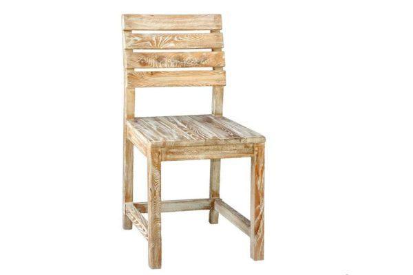 כיסא אוכל מעץ אלון