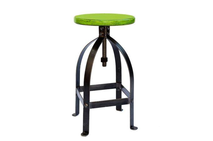 כסא בר ברזל לדלפק