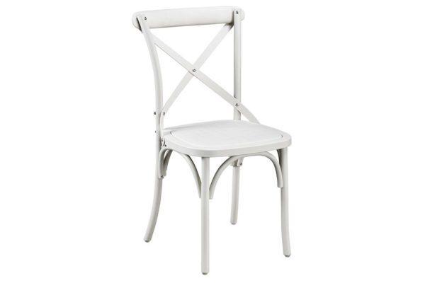 כסא גינה בצבע שמנת