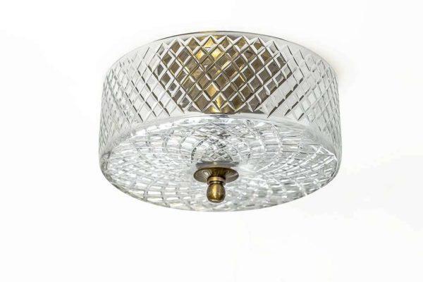 מנורה זכוכית מעוצבת