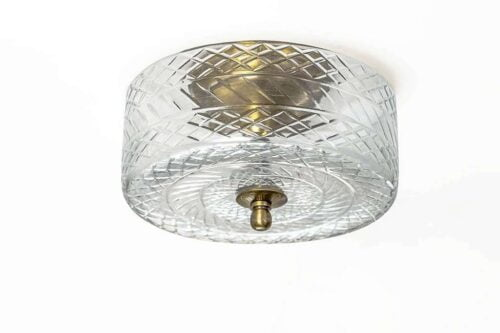 מנורת תקרה מעוגלת