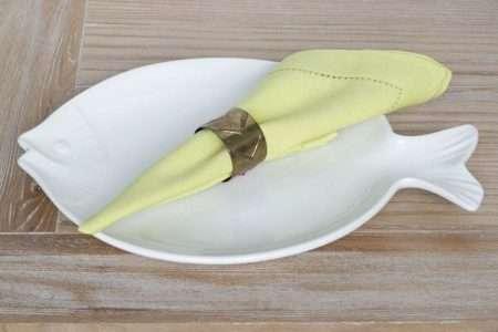 מפיות אוכל ירוקות מבד