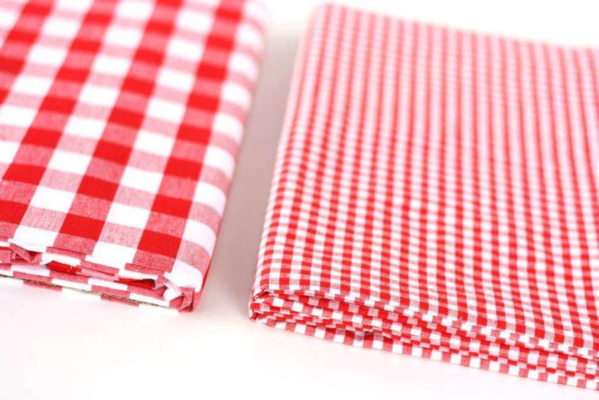 מפת שולחן פפיטה לבן אדום