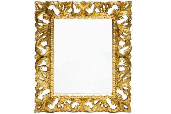 מראת זהב ענקית לקיר