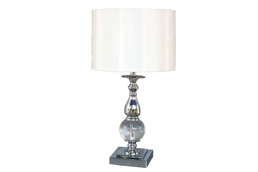 מנורת שולחן ניקל