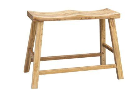 ספסל זוגי גבוה לדלפק