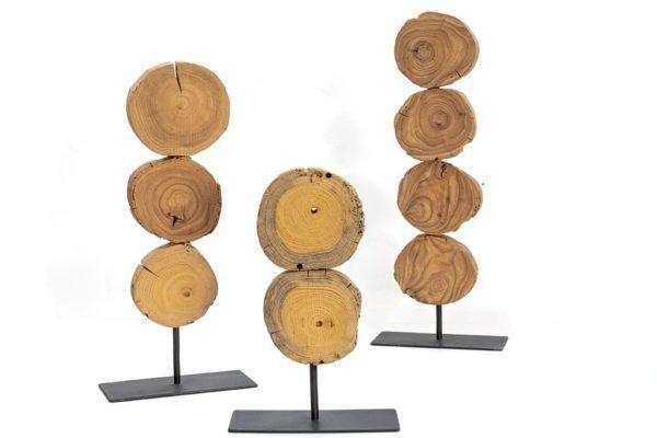 פריטי עיצוב מעץ