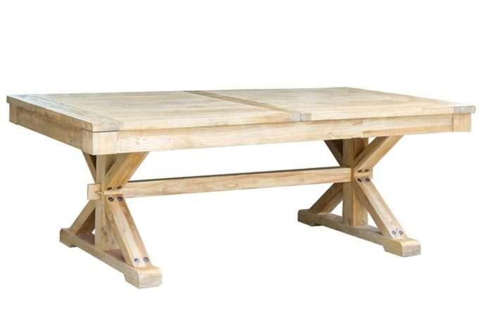 שולחן אבירים מעוצב מעץ