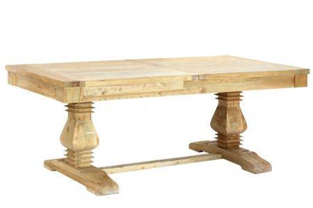 שולחן אבירים נפתח מעץ