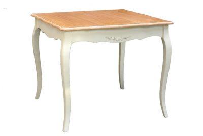 שולחן אוכל מרובע פרובנס