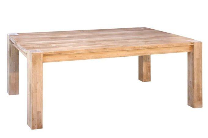 שולחן אוכל עץ אלון