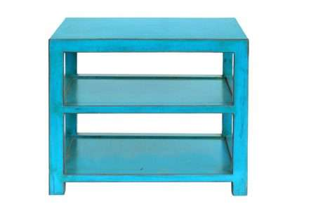 שולחן צד כחול