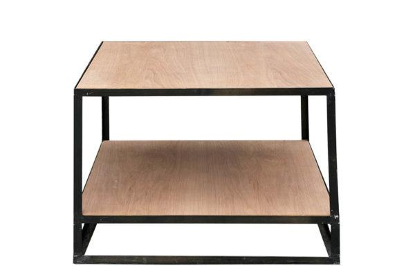 שולחן מרובע עץ ברזל