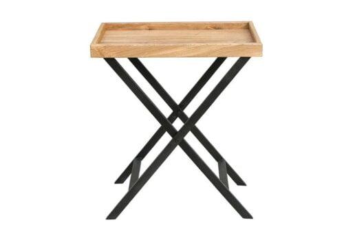 שולחן מגש עץ להגשה