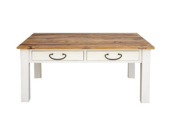 שולחן סלון עם ארבע מגירות