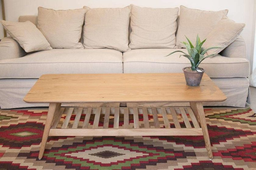 שולחן סלון רטרו מעוצב
