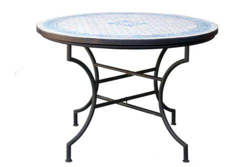 שולחן לגינה עגול