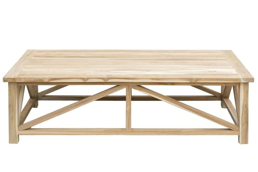 שולחן עץ לסלון גדול