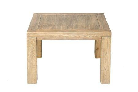 שולחן קפה מרובע מעץ
