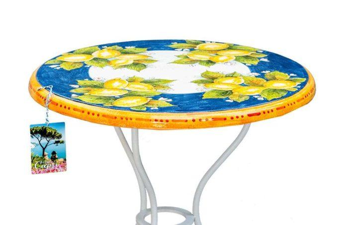 שולחן עגול לגינה
