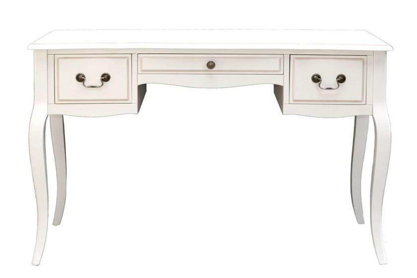 שולחן טואלט פרובנס לבן