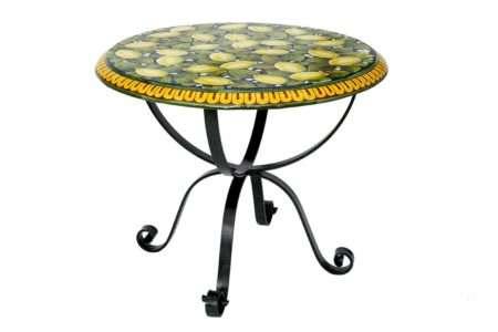 שולחן מרפסת עגול