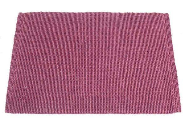 שטיח בצבע בורדו חבלים