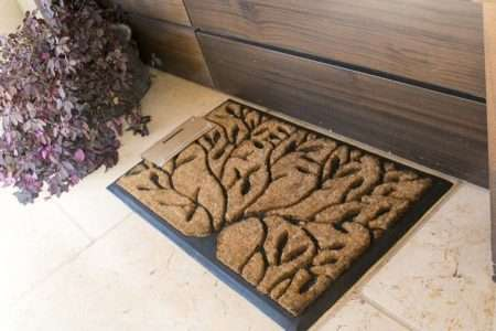 שטיח סף יוקרתי עלים