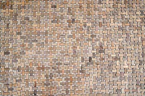 שטיח עץ חום לבית