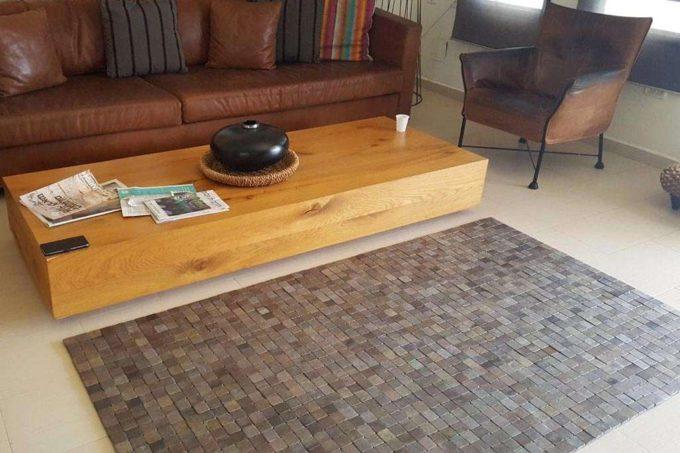 שטיח עץ