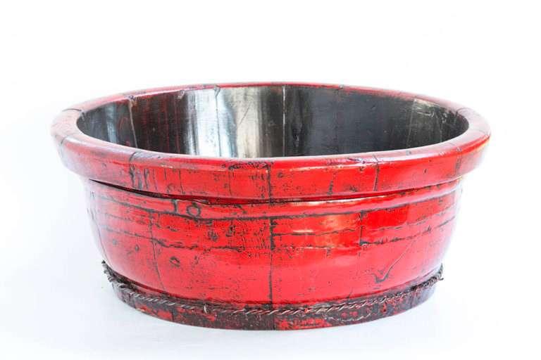 תחתית חבית אדומה