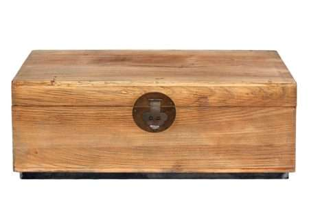 תיבה מעץ מלא ארגז