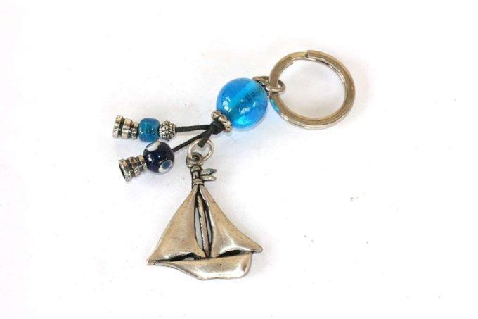 מחזיק מפתחות סירת מפרש