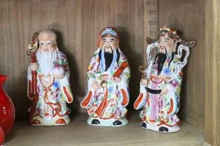 חכמים סינים מקרמיקה