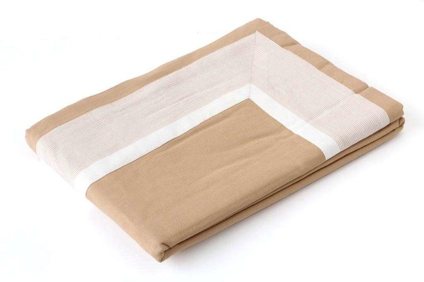 מפת שולחן מסגרת חום