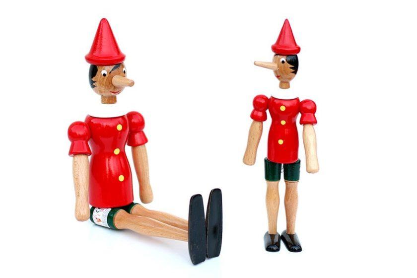 בובות פינוקיו מעץ